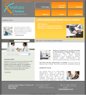 Mafaza Trading and I.T Consultants Website
