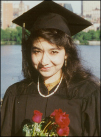 Dr. Afia Siddiqui Educated in USA