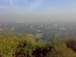 View of Islamabad from a mountain