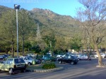 A View of Car Parking in Damn-e-koh Islamabad