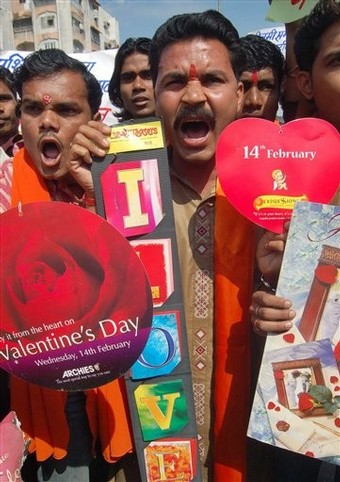 hindu extremism in india and valentine's day | yasir imran mirza, Ideas