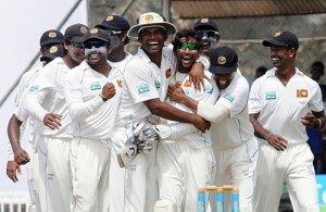 Sri Lanka won first test