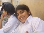 A small school girl who was among passengers of Airblue 202