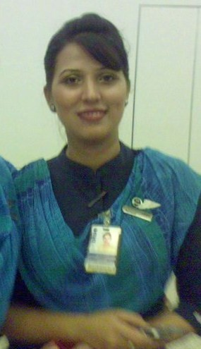 Naheed Bhatti (with badge)
