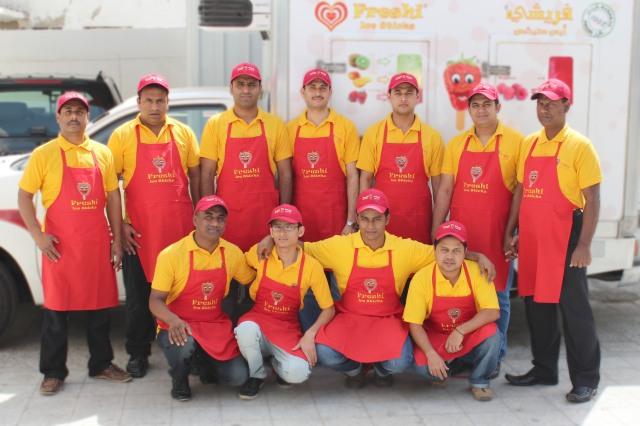 Sales Team of Freshi Ice Sticks