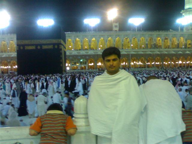 Yasir Imran Mirza During Umrah - Makkah, Saudi Arabia
